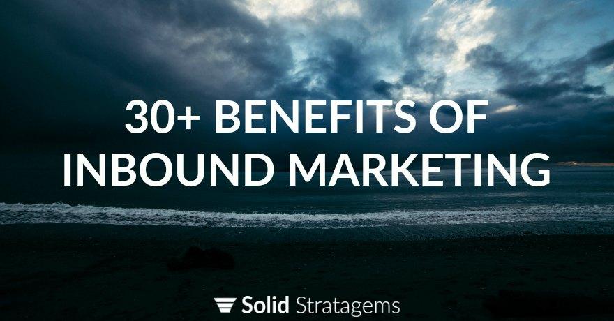 Inbound Marketing Benefits